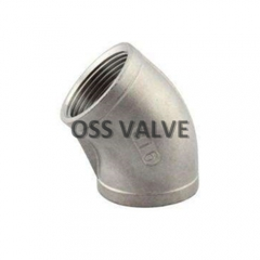 45° Threaded Elbow Stainless Steel