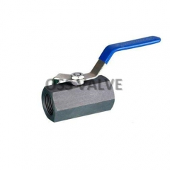 1PC Ball Valve Hexagon Carbon Steel