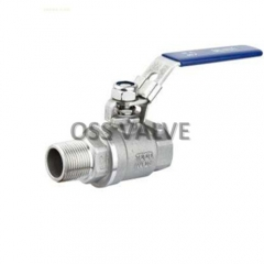 2PC Ball Valve F/M Thread