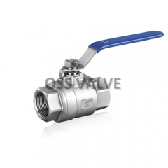 2PC Ball Valve Threaded