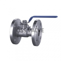 GB Standard 1PC Body Flange Ball Valve