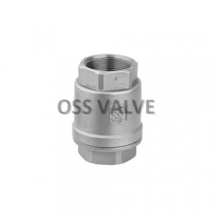 H12W Vertical Check Valve Threaded Type