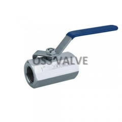 1PC Ball Valve Hexagon Stainless Steel