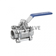 3PC Ball Valve Threaded