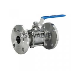 3PC Flange Ball Valve PN16 PN25 PN40