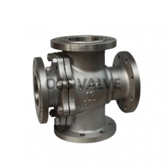 Four Way Ball Valve, Double L Way